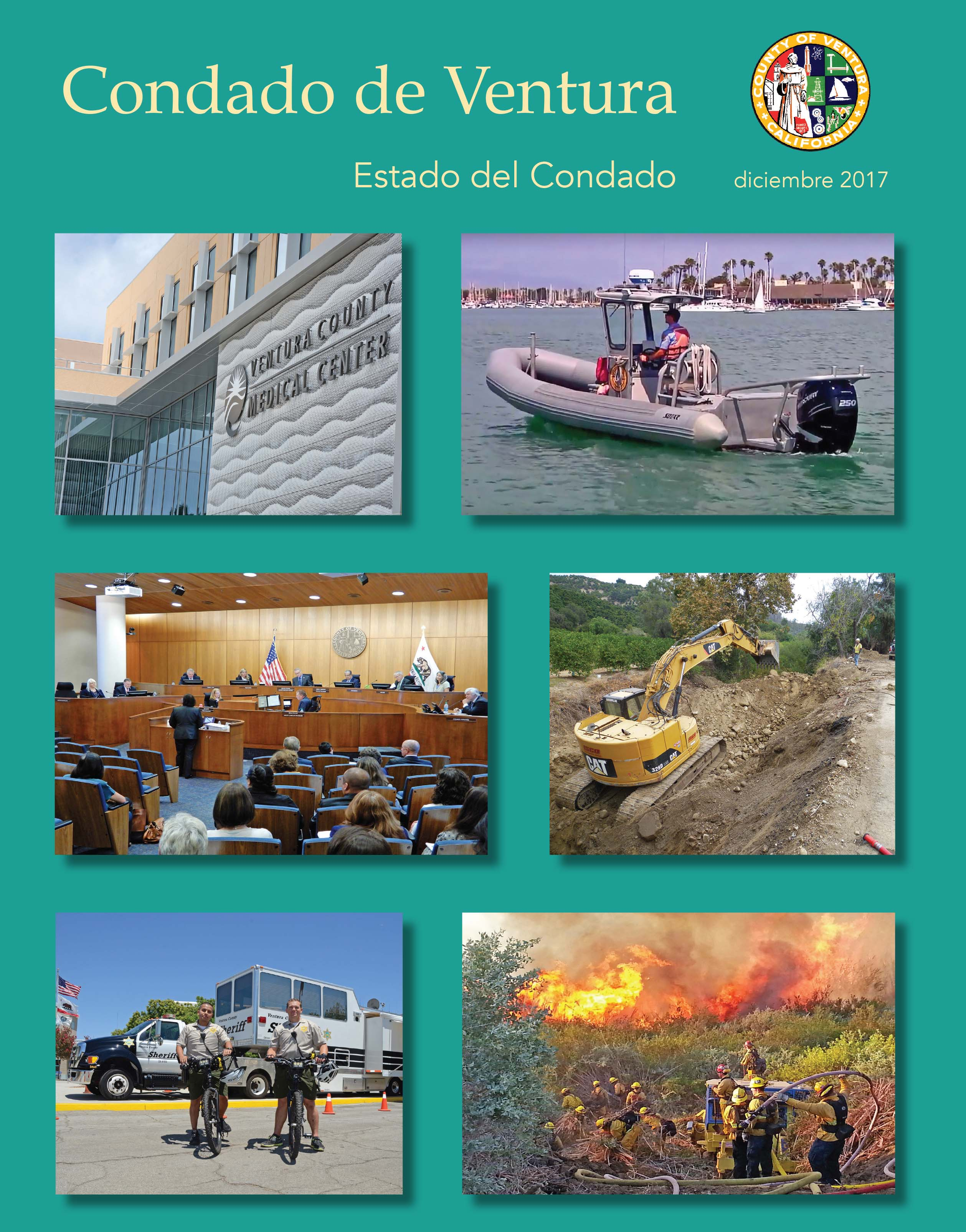 December 2017 State of the County (Spanish) Cover