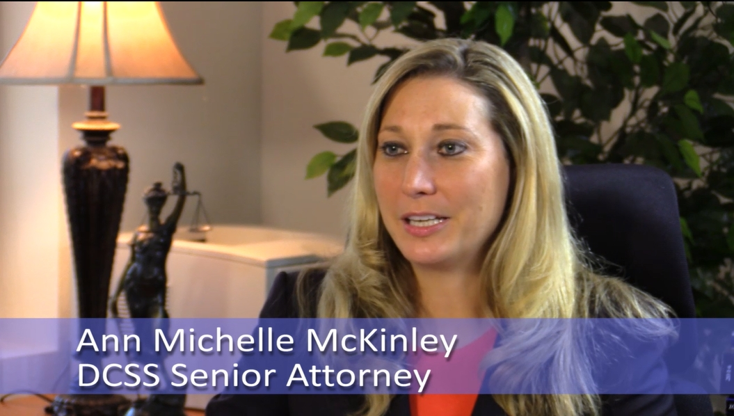 Ann Michelle McKinley DCSS Senior Attorney