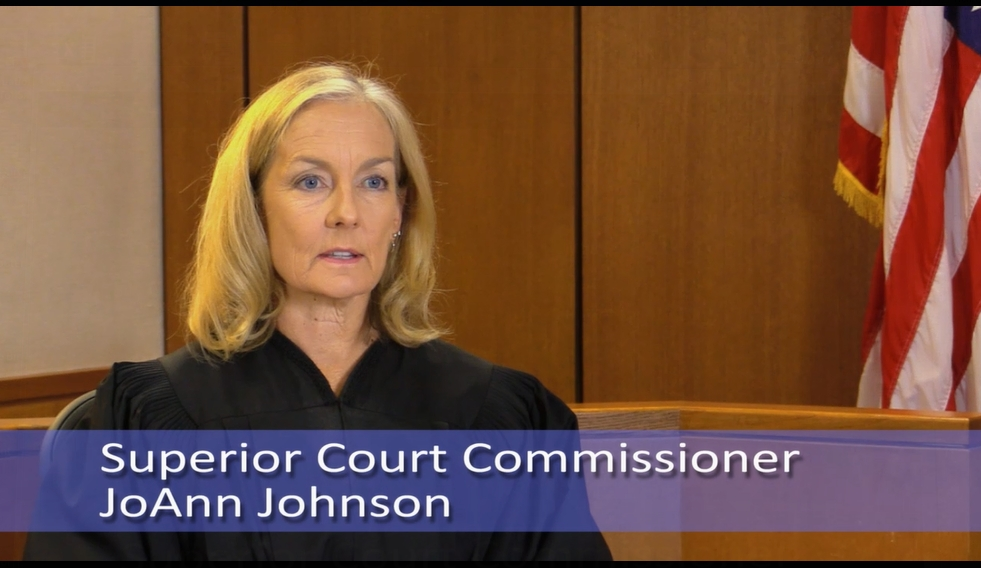 Superior Court Commissioner JoAnn Johnson