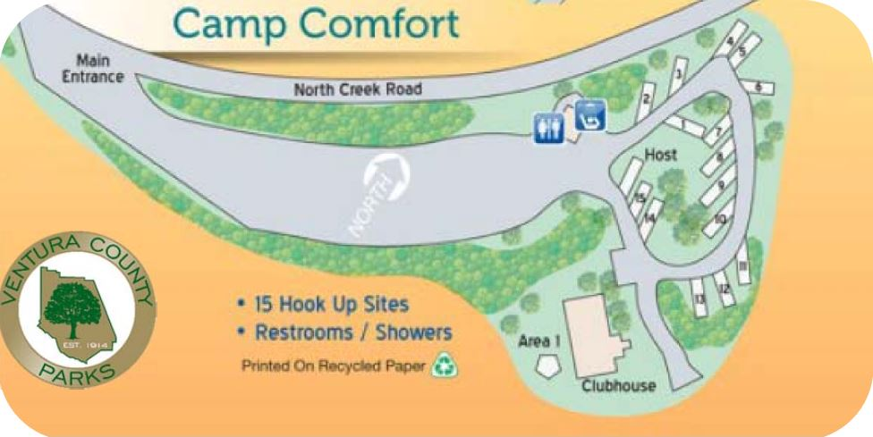Camp Comfort Layout