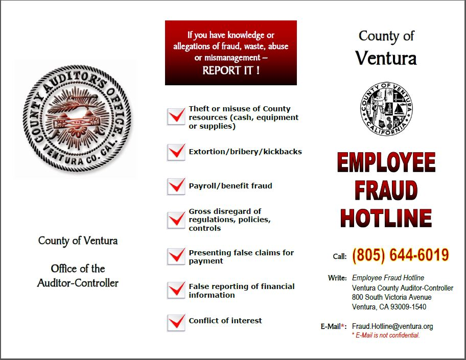 Employee Fraud Hotline